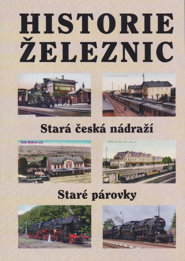 Historie železnic (multimediální DVD)