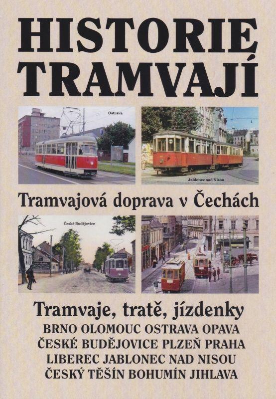 Historie tramvají - tramvaje, tratě, jízdenky (multimediální DVD)