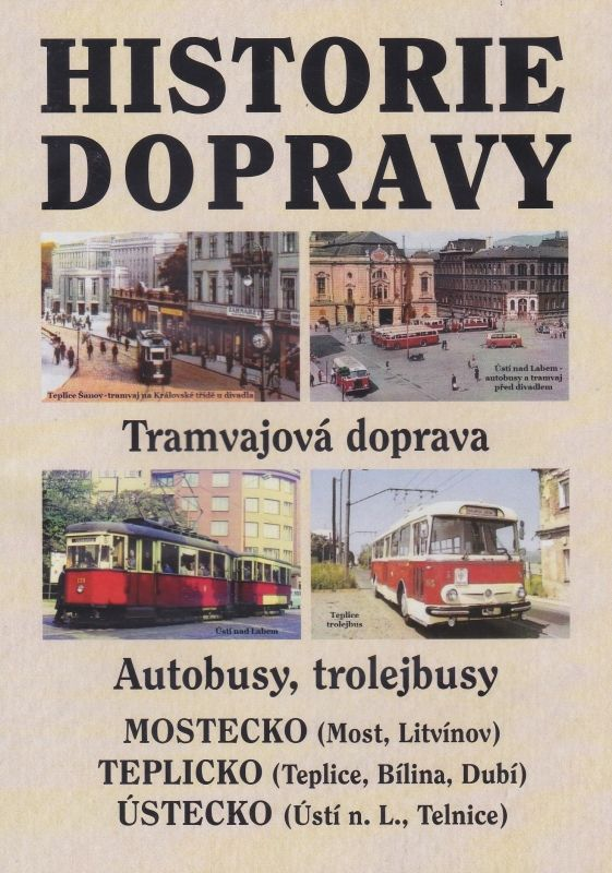Historie dopravy - tramvajová doprava, autobusy, trolejbusy (multimediální DVD)