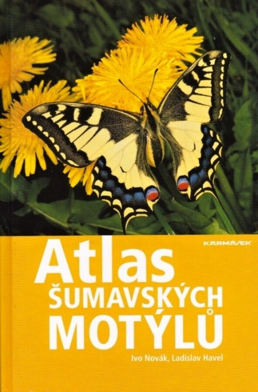 Atlas šumavských motýlů (Ivo Novák, Ladislav Havel)